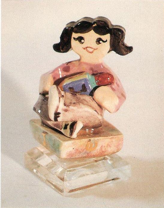 ceramic dreidel