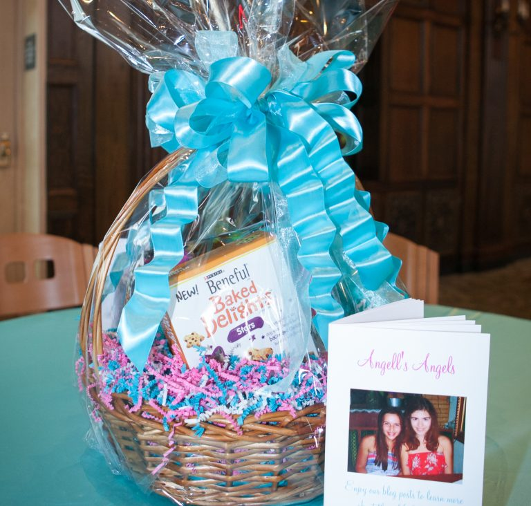 Charity gift basket