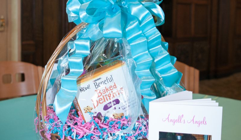 Charity gift basket