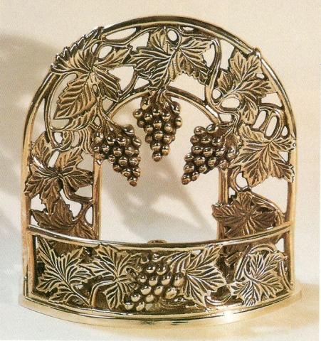 silverplate menorah