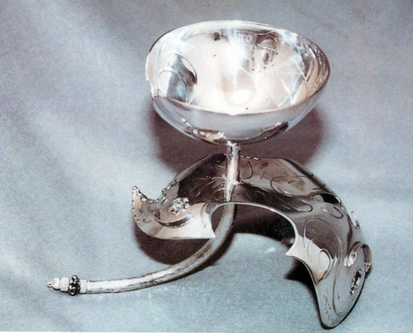 Pewter/Sterling Miriam's Cup