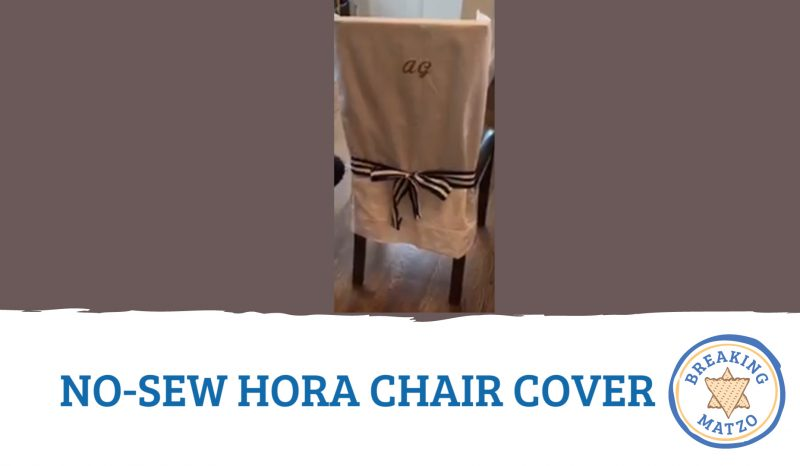 No-Sew Hora Chair Cover