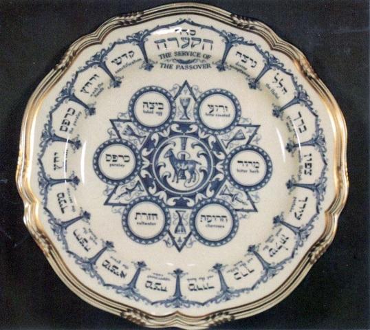 Spode Seder Plate