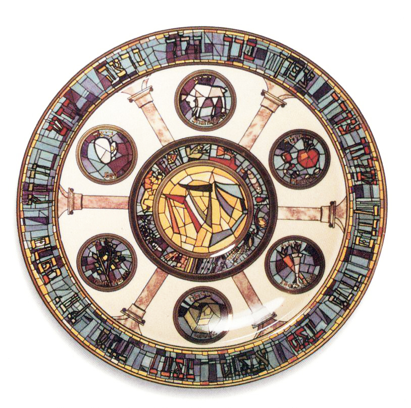 Porcelain Seder Plate