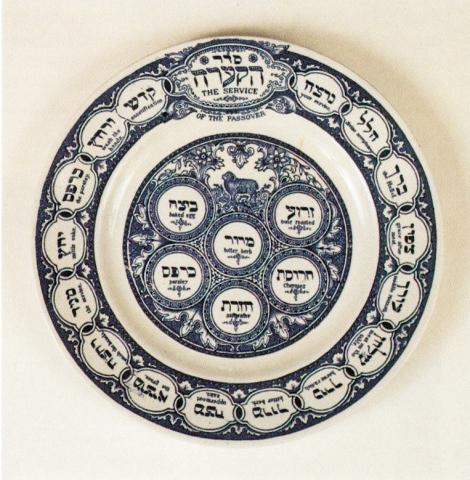 Tepper Seder Plate