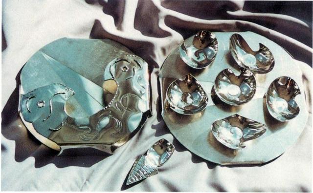 Pewter Seder Plate