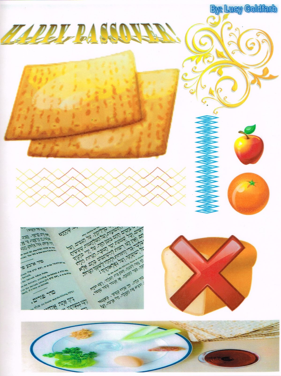 Passover Table Mat