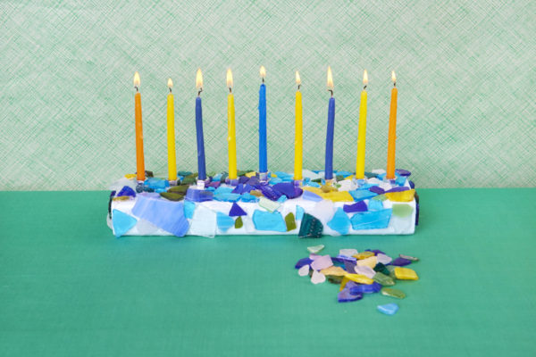 How to Make Your Own Menorah
