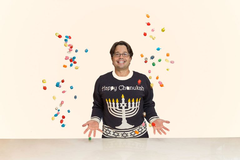 Andy Hanukkah Sweater