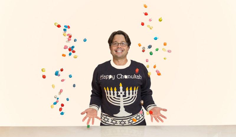 Andy Hanukkah Sweater