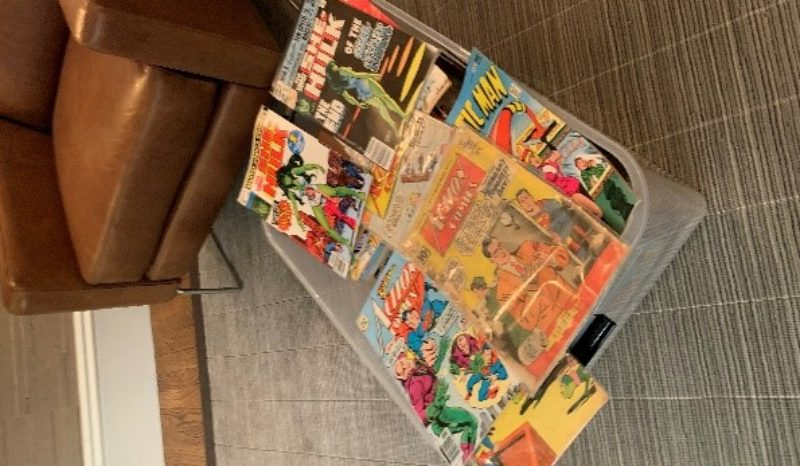 Comics in a box