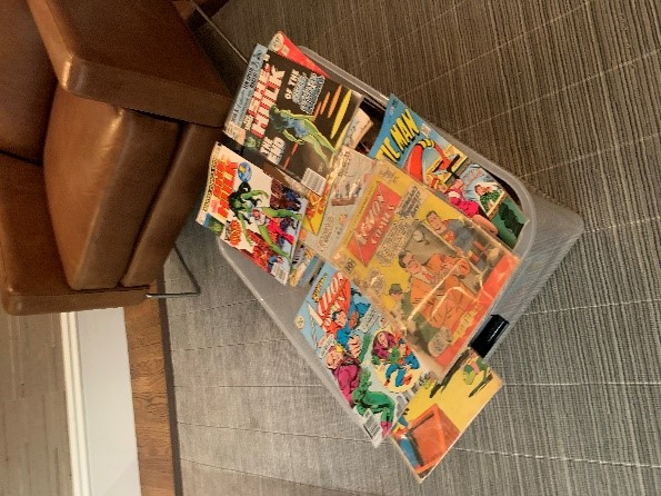 Comics in a box