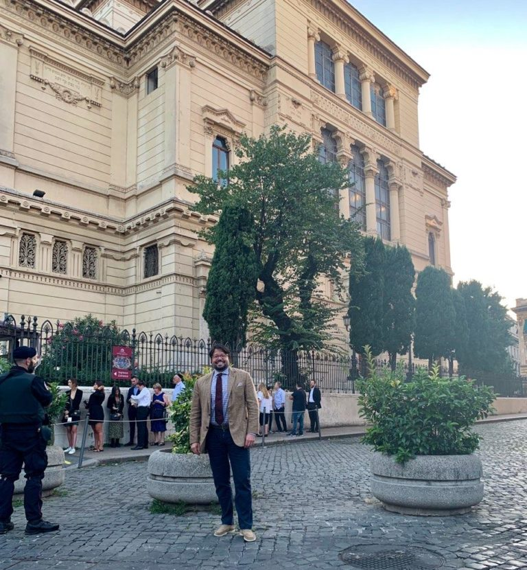Andy in Rome