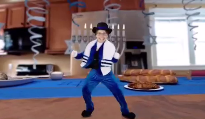 Andy Hanukkah Dance