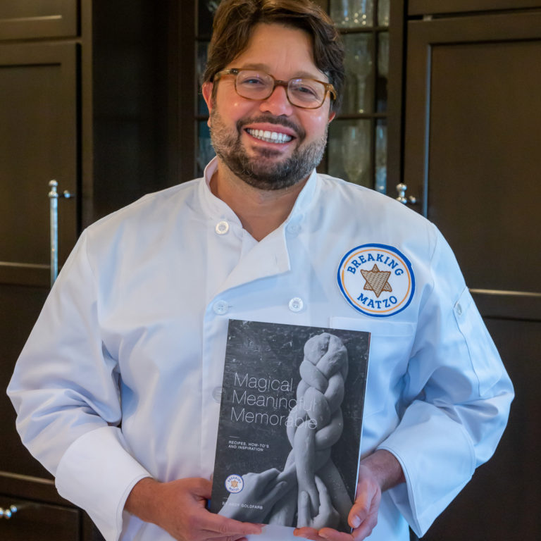 Andy with Cookbook