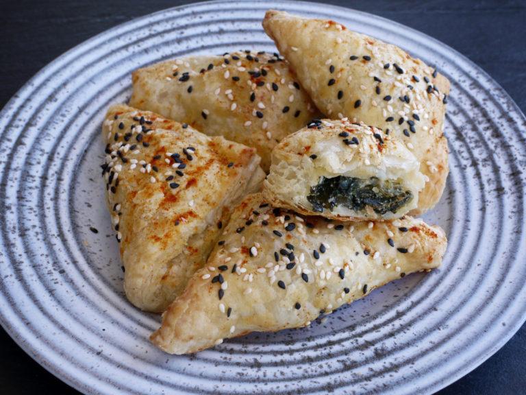 Spinach and Feta Bourekas