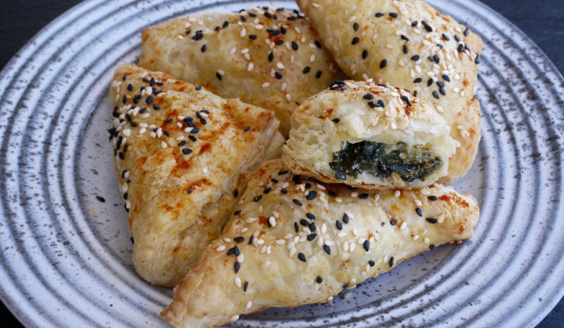 Spinach and Feta Bourekas