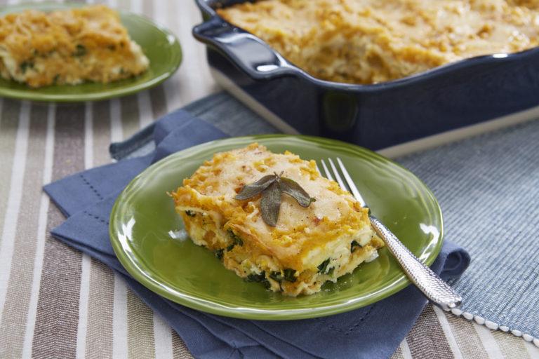 Butternut Lasagna Slice