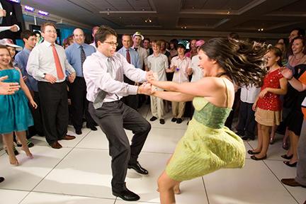 Andy & daughter, Caroline dance