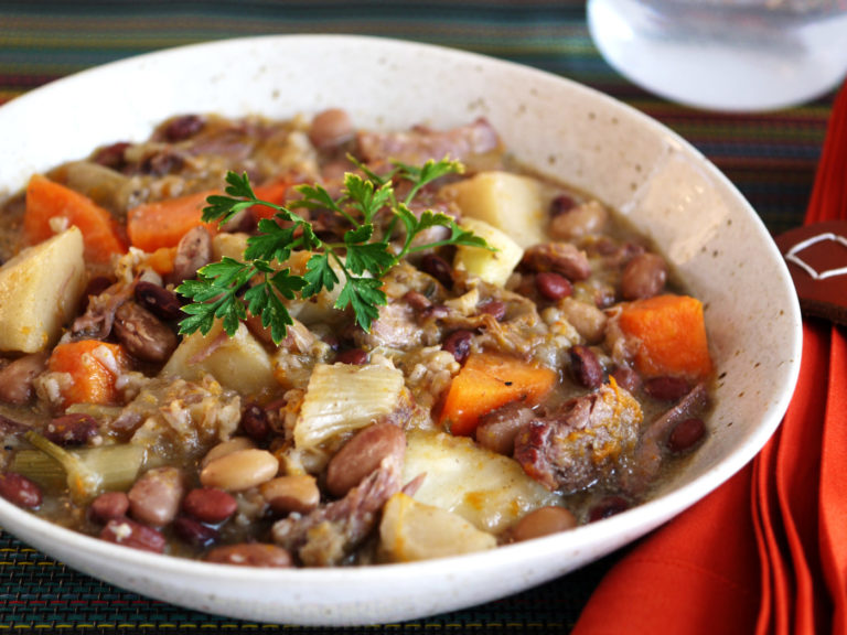 Cholent with Short Ribs