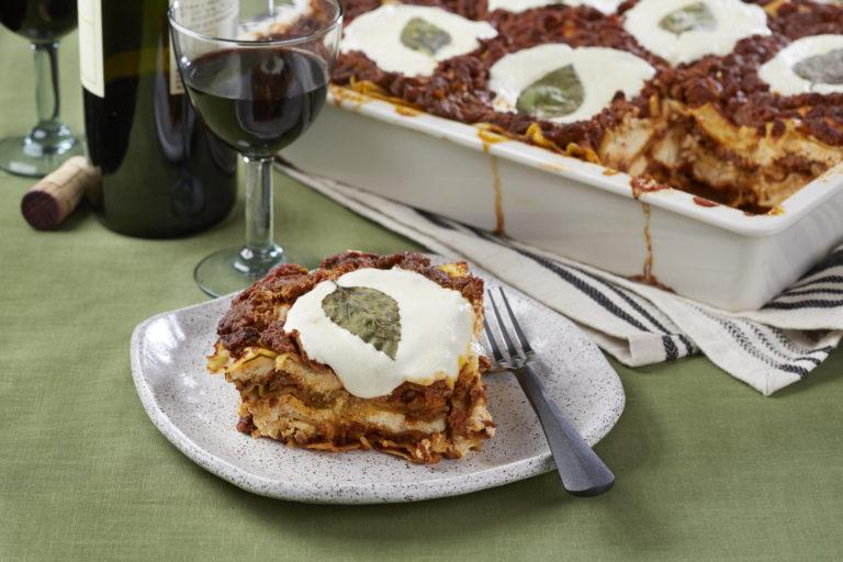 Classic Lasagna Slice