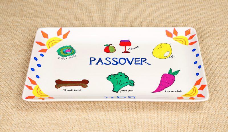 DIY Seder Plate Step 3