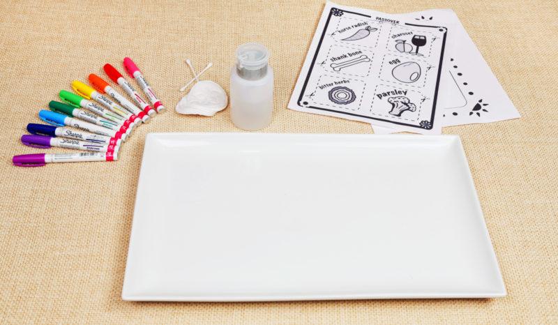 DIY Seder Plate Materials
