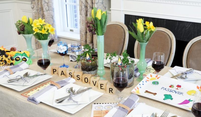 Fun Passover Table
