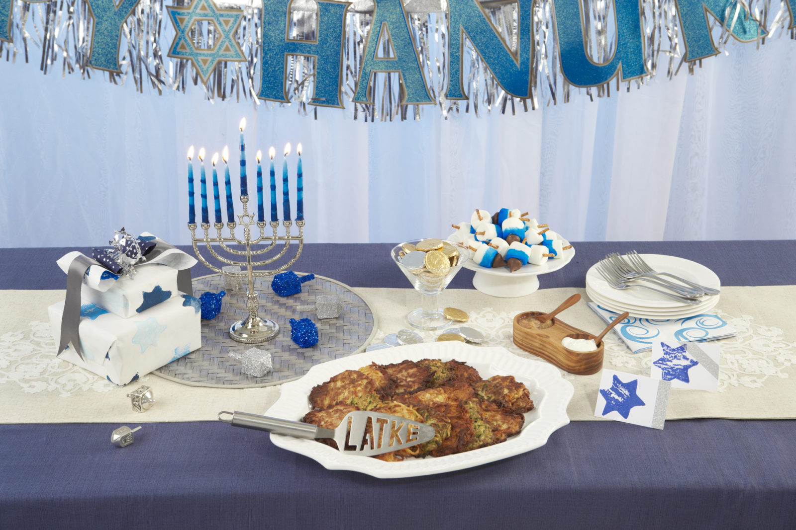 What is the story of hanukkah breaking matzo many of us are more familiar with the symbols of the hanukkah holiday the menorah the dreidel the latkes than the story behind the holiday itself buycottarizona Images