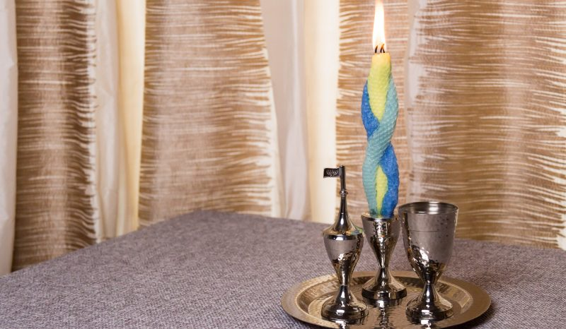 DIY Havdalah Candle