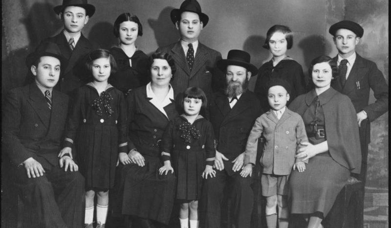 Hungarian Jewish Family