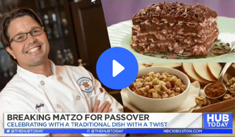 Breaking Matzo on TV