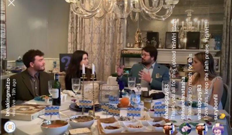 Virtual Passover Seder
