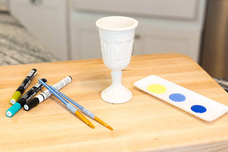 DIY Kiddush Cup Materials