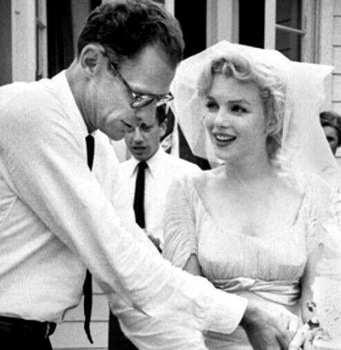 Marilyn Monroe & Arthur Miller Wedding