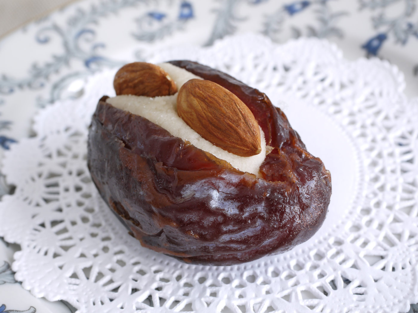 Marzipan Stuffed Dates