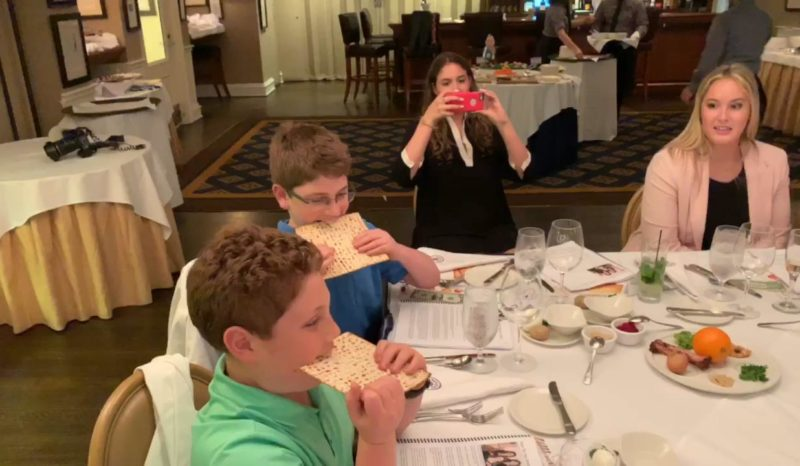 Matzo Eating Contest