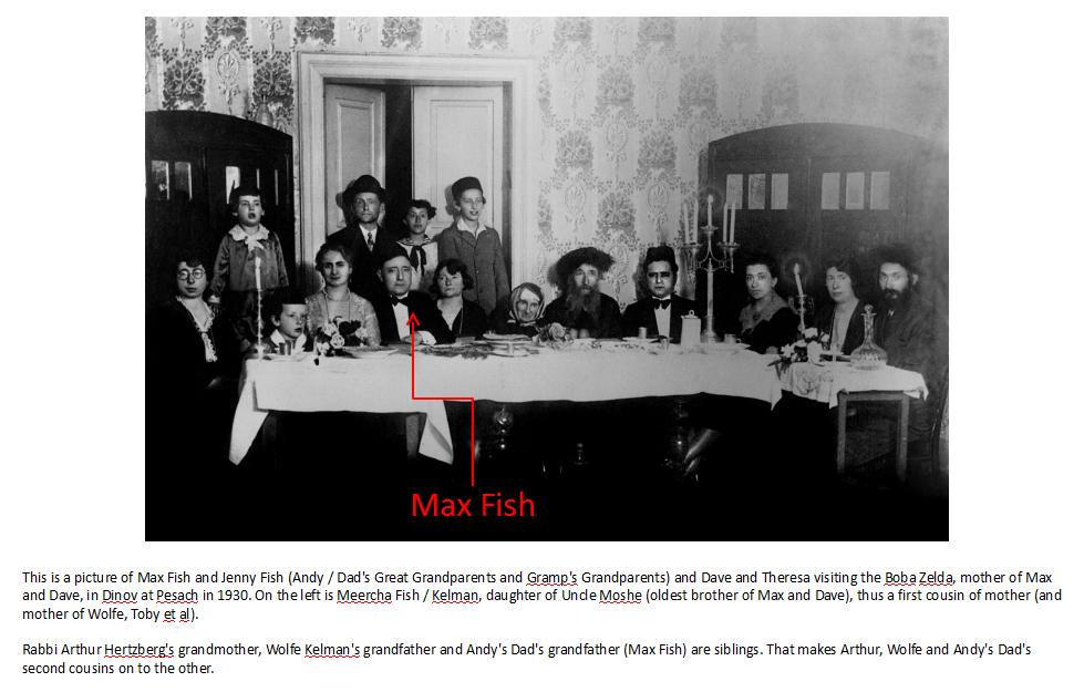 Max Fish Family Photo