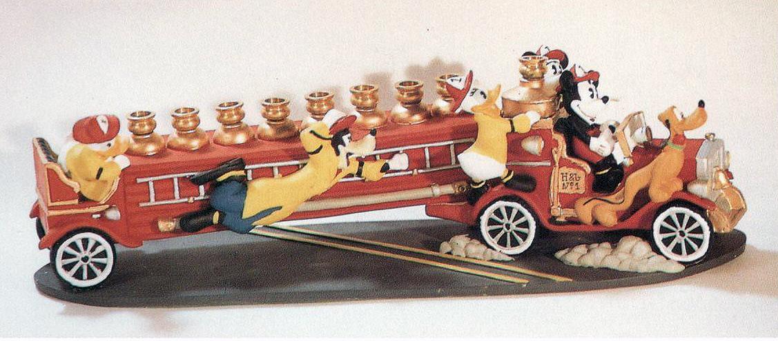Disney Hanukkah Menorah