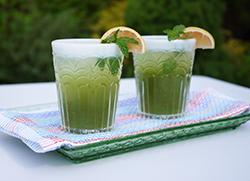 Mint & Rosewater Lemonade