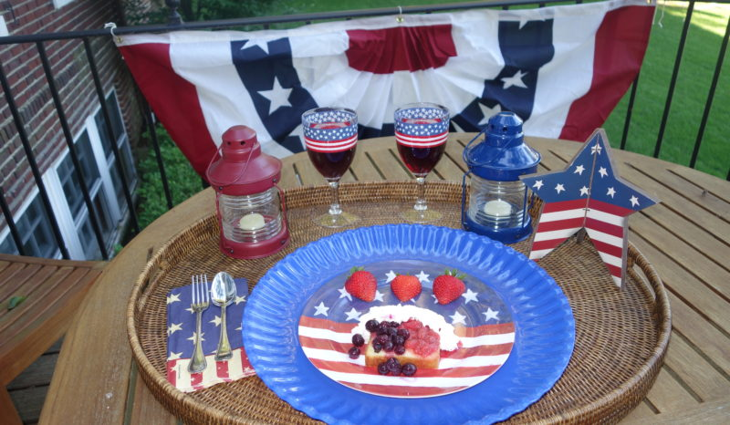 Patriotic Poundcake