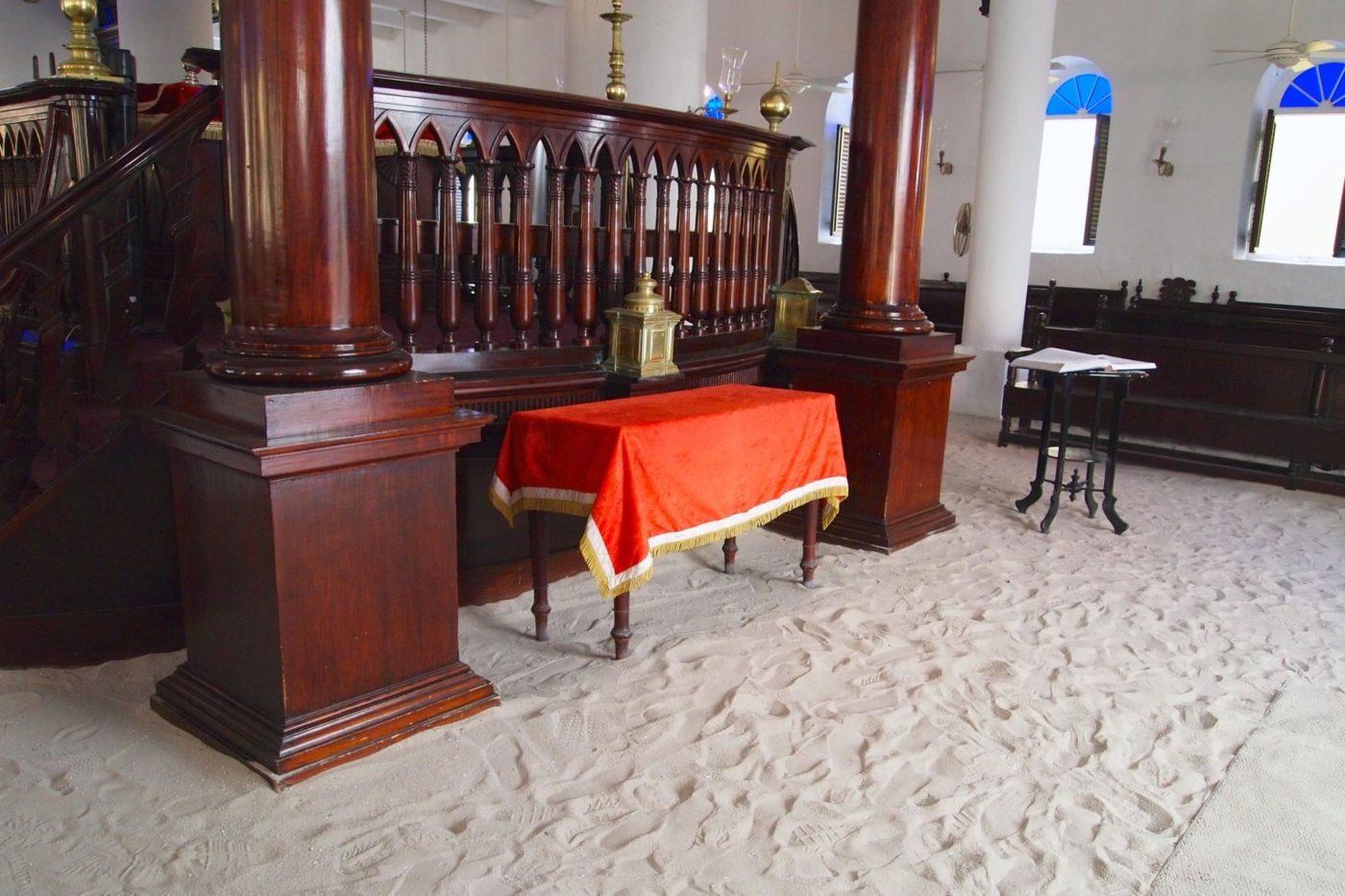 Interior Mikvé Israel-Emanuel Synagogue