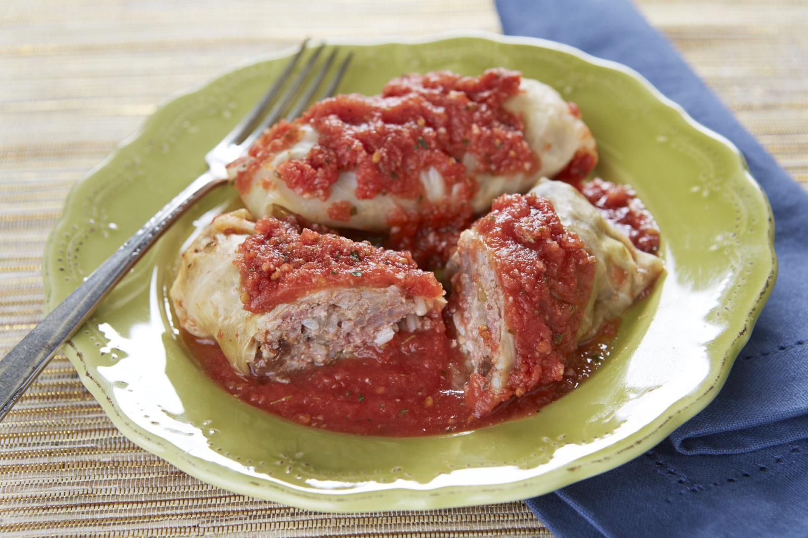 Bubbie's Stuffed Cabbage