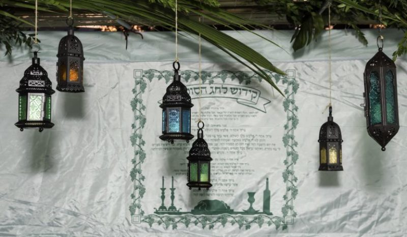 Succot lanterns