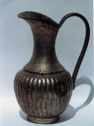 Pewter Hand-washing Pitcher