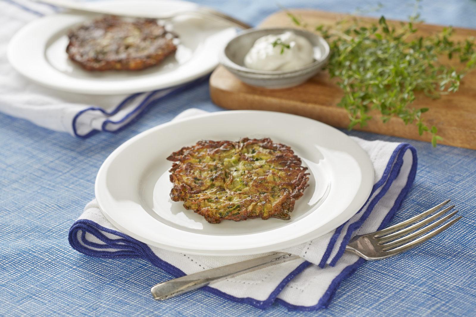 Gluten-Free Zucchini Latkes