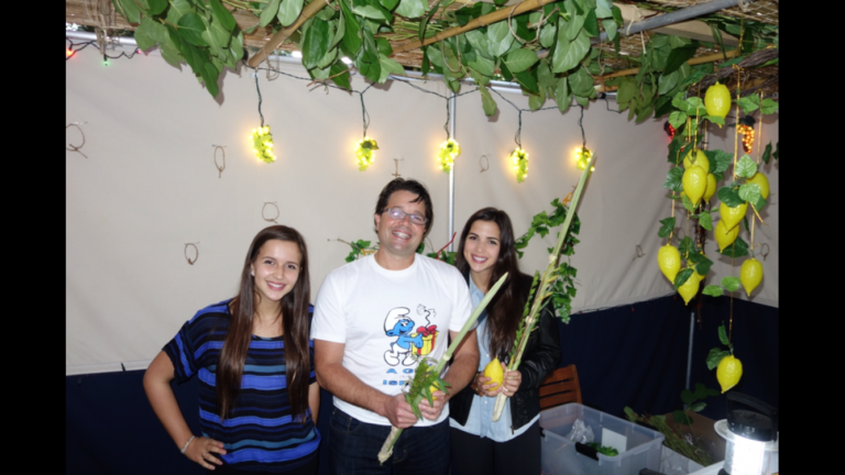 Andy & Daughters Succah