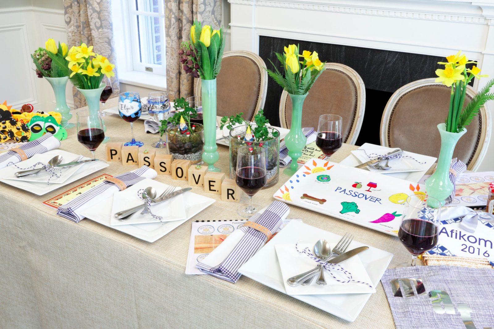The Fun Passover Table Breaking Matzo