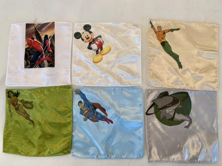 Super Hero Pocket Squares