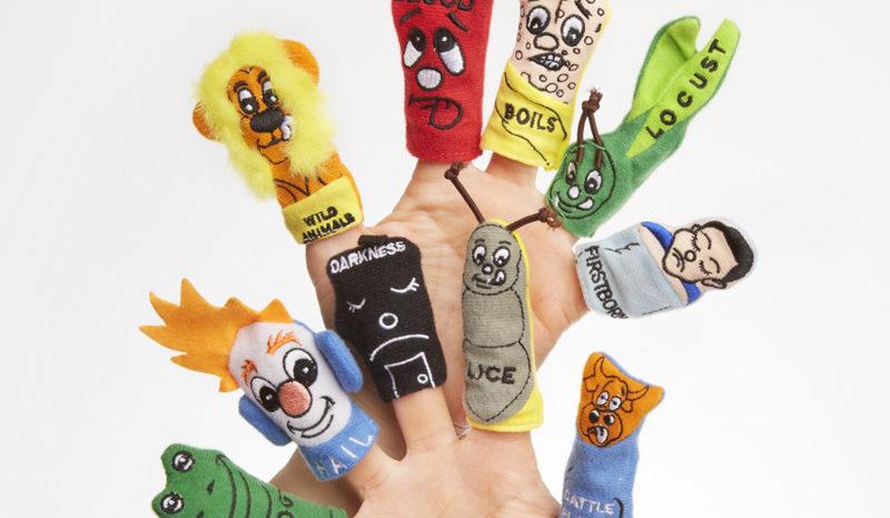 Ten Plagues Finger Puppets